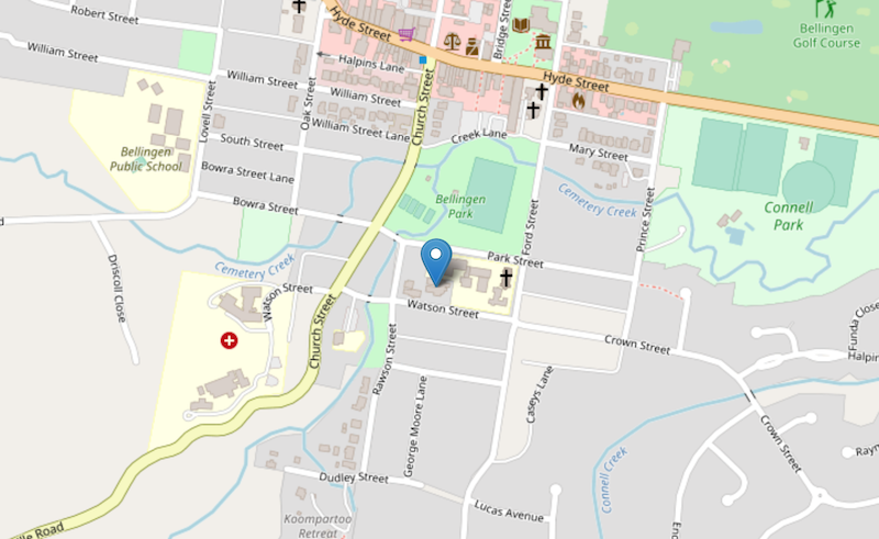 Bellingen COVID Clinic map - Coronavirus testing clinic. COVID Clinic for Bellingen Shire. Self isolation & quarantine information, coronavirus symptoms & advice. Set up by the Bellingen Shire Clinical Action Group.